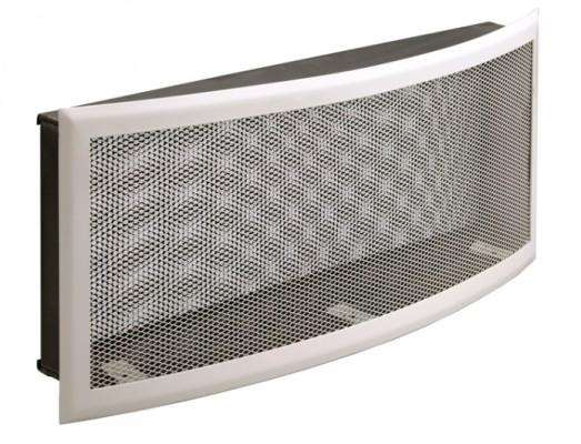 Решетка вентиляционная 35х20, горизонтальная радиусная, подрамник с фильтром DIXNEUF