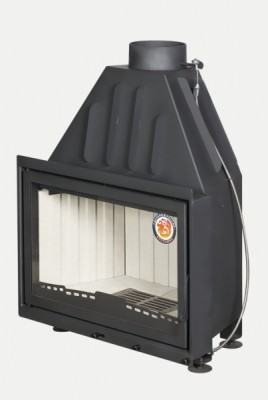 Топка для камина со стеклом Экокамин Альфа 800 (арт. TA800)