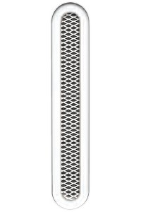 Решетка вентиляционная 735х135, без подрамника, овальная DIXNEUF